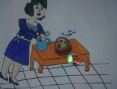 """مشهد معبر عن حال التعليم فى مصر بعد التخرج  بكاريكاتير """"جريدة صوت مصر نيوز"""""""