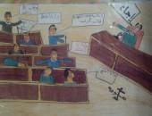 """مناقشة """"قانون الطوارئ""""  بكاريكاتير جريدة """"صوت مصر نيوز"""""""