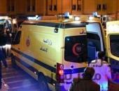 إصابة شخصين إثر انقلاب سيارة ميكروباص علي الطريق الزراعي ببني سويف | صوت مصر نيوز