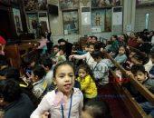 بالصور.. تحتفل كنيسة الشهيد مارجرجس أبو الفرج بعيد الأم  | صوت مصر نيوز