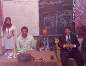 تحية شكر وإجلال للقوات المسلحة والشرطة المصرية لتأمينهم العملية الإنتخابية بسنهور القبلية | صوت مصر نيوز