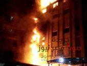 عاجل.. حريق هائل في كنيسة أبو مقار بمنطقة شبرا الخيمة   صوت مصر نيوز