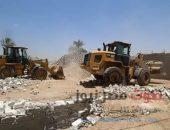 محافظ قنا في حملة مكبرة لإزالة التعديات على أراضي الدولة بنجع حمادي |صوت مصر نيوز