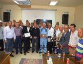 مياه الفيوم تكرم 27 من العاملين المحالين للمعاش وأسر المتوفيين | صوت مصر نيوز