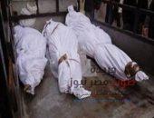 تشييع جنازة أب وأولاده الثلاثة لقوا مصرعهم صعقاً بالكهرباء   صوت مصر نيوز