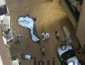 مصرع طالب سقط من الطابق الخامس بالهرم | صوت مصر نيوز