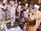 البابا تواضروس يصلي قداس عيد الظهور الإلهي   صوت مصر نيوز