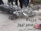 مصرع شاب وإصابة آخر إثر تصادم «موتوسيكل» وسيارة أجرة بالفيوم   صوت مصر نيوز