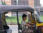صراخ سائق توك توك ينقذه من الموت و سرقة مركبته بالخانكة صوت مصر نيوز