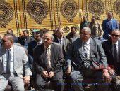 رئيس جامعة الفيوم يشارك بوضع حجر الأساس لمقر مجمع محاكم مجلس الدولة الجديد  صوت مصر نيوز