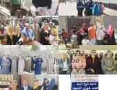 أهالي بني صالح بالفيوم يشاركون في الاستفتاء علي الدستور | صوت مصر نيوز
