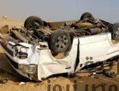 بالاسماء…إصابة 5 مراقبين ثانوية عامة إثر انقلاب سيارة بالسويس | صوت مصر نيوز