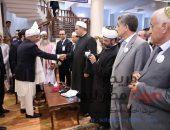 الرئيس الأفغاني: نشكر الأزهر على دوره في الدعوة للسلم العالمي و لاعتنائه بأبنائنا الدارسين بالأزهر |صوت مصر نيوز