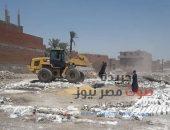 إزالة 14 حالة تعد على أراضى وطرق بسنورس فى الفيوم | صوت مصر نيوز