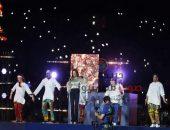 مشاهدة وتحميل أغنية دنيا سمير غانم في ختام كأس الأمم الافريقية 2019 | صوت مصر نيوز