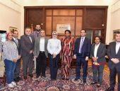 وزيرة الصحة تشهد توقيع بروتوكول تعاون مع مفوضية الاتحاد الأفريقي | صوت مصر نيوز