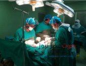 إجراء أول عملية جراحية لتركيب شريان صناعى لمريض بمستشفي التأمين الصحي ببني سويف | صوت مصر نيوز