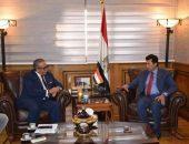 وزير الرياضة يبحث استعدادات البطولة الافريقية لكرة القدم المؤهلة لطوكيو 2020   صوت مصر نيوز