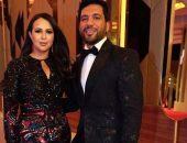 الثنائي إيمي غانم وحسن الرداد في مهرجان الجونة السينمائي وتعليقات ساخرة من متابعيهم | صوت مصر نيوز