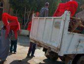 رفع وإزالة 530 حالة إشغال متنوعة في حملة بشوارع وميادين مدينة ناصر | صوت مصر نيوز