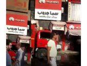 عاجل.. حريق ببرج مفتاح بشارع السنترال بالفيوم | صوت مصر نيوز