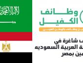 وظائف شاغرة بالسعودية للمقيمين بمصر والمقابلات الثلاثاء 22 اكتوبر 2019 .. سجل هنا الآن