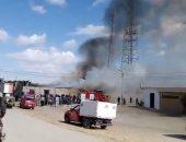 اندلاع حريق بمقر إدارة يوسف الصديق التعليمية بالفيوم | صوت مصر نيوز
