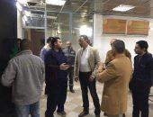 محافظ الفيوم في جوله مفاجئه للمستشفى العام | صوت مصر نيوز