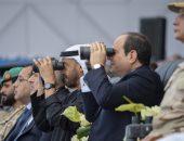 عاجل .. الرئيس السيسي يفتتح اكبر قاعدة عسكرية بالشرق بالأوسط   صوت مصر نيوز