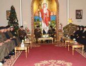 القائد العام للقوات المسلحة يهنئ البابا تواضروس الثانى بمناسبة عيد الميلاد المجيد   صوت مصر نيوز