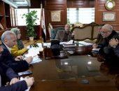 محافظ بني سويف يناقش مع مسؤولي هيئة الصرف الصحي الانتهاء من توصيل الخدمة لـ 222 قرية | صوت مصر نيوز