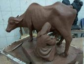 إبداع طلاب كلية فنون جميلة جامعة المنيا | صوت مصر نيوز