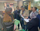 محافظ الفيوم في زيارة مفاجئه لمستشفى التأمين الصحي | صوت مصر نيوز