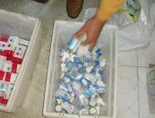 صحه الفيوم : ضبط أدوية مجهولة ومنتهية الصلاحية داخل مخازن سرية | صوت مصر نيوز