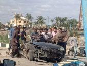 عاجل.. مصرع 5 أشخاص في حادث تصادم بين سيارتين بطريق بحيرة قارون بالفيوم | صوت مصر نيوز
