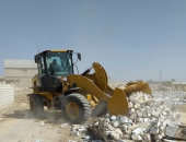 إزالة 10 حالات تعدِ على الأراضي الزراعية بمركزي طامية وأبشواي بالفيوم |صوت مصر نيوز