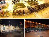 القوات المسلحة تنفذ عمليات التعقيم والتطهير الوقائى لميدان رمسيس ومحطة قطارات سكك حديد مصر | صوت مصر نيوز