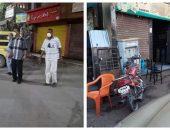 تحرير 15 محضر مخالفة حظر تجوال و رفع 7 حالات إشغال بالطريق العام بسنورس   صوت مصر نيوز