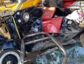 إصابة 3 أشخاص في حادث تصادم بسنهور القبليه بمركز سنورس | صوت مصر نيوز