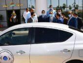 """محافظ الفيوم يشهد تسليم أول سيارة للضبطية القضائية لحماية المستهلك ويتفقد سيارة """"أطفال بلا مأوى""""  صوت مصر نيوز"""