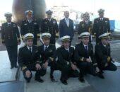 القوات البحرية تحتفل بتدشين الغواصة الرابعة S-44 من طراز ( 209 / 1400) ألمانية الصنع |صوت مصر نيوز
