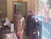دكتورة هبه عاطف تتابع العمل بمبادرة الإمراض المزمنة بعيادة ابشواي الشاملة للتامين الصحي صوت مصر نيوز
