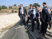 محافـظ المنوفية يتفقد مشروع تأهيل وتبطين ترعة مصرف شمنديل بقويسنا بتكلفة (87 مليون و370 ألف جنيه)|صوت مصر نيوز