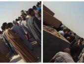 تشييع جنازة شهيدي لقمة العيش بقرية شكشوك بمركز أبشواي   صوت مصر نيوز