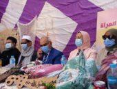 بالصور : الأمومة والطفولة وصحة بالفيوم يحتفلان بعيد الطفولة بابشواى|صوت مصر نيوز