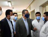محافظ الفيوم يتفقد مستشفى أبشواى المركزي لمتابعة إلتزام العاملين بالإجراءات الإحترازية |صوت مصر نيوز