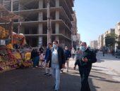 رئيس مدينة طامية يقود حملة مكبرة لرفع الاشغالات ومتابعة الإجراءات الإحترازية |صوت مصر نيوز