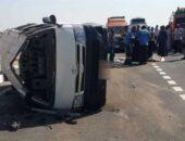 بالأسماء.. مصرع وإصابة 9 أشخاص في حادث مروع بسوهاج|صوت مصر نيوز
