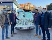 ضبط 500 كيلو أرز غير مطابق للمواصفات و 250 كيلو دقيق بلدى مدعم قبل تهريبه للسوق السوداء بالفيوم |صوت مصر نيوز