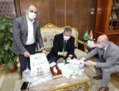 ابو ليمون : مبادرة لدعم القطاع الطبي بالتعاون مع الهلال الاحمر للأسر الأولي بالرعاية  | صوت مصر نيوز
